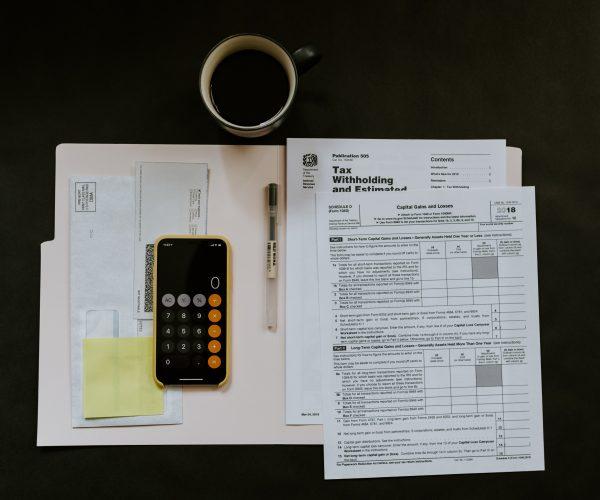 unsplash - accounting