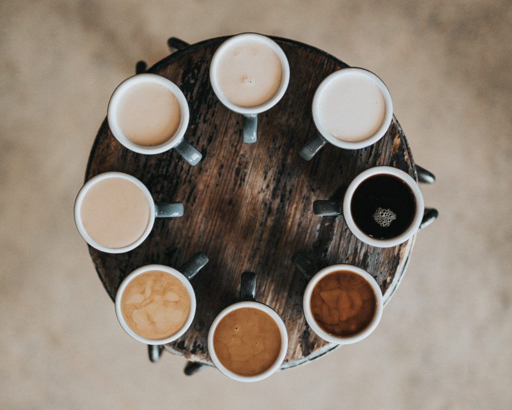 unsplash - coffee coulours