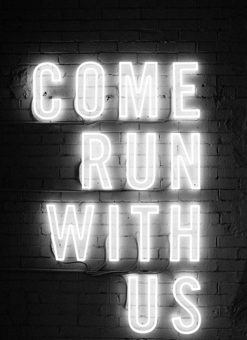 unsplash - come run