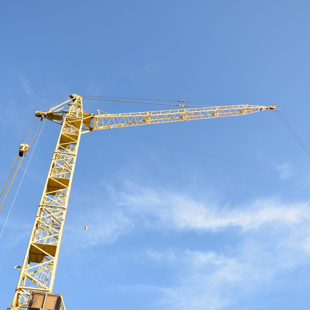 unsplash - construction crane