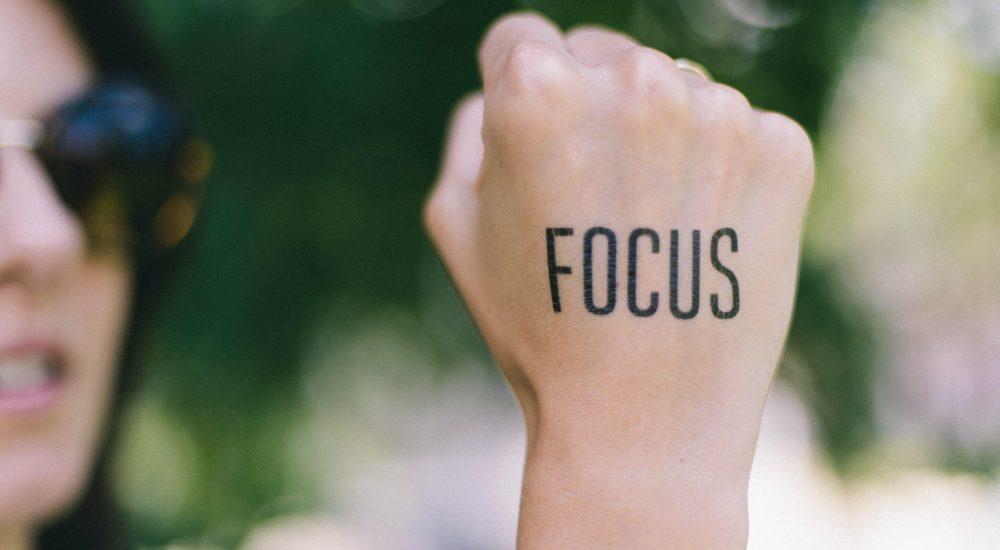 unsplash - focus