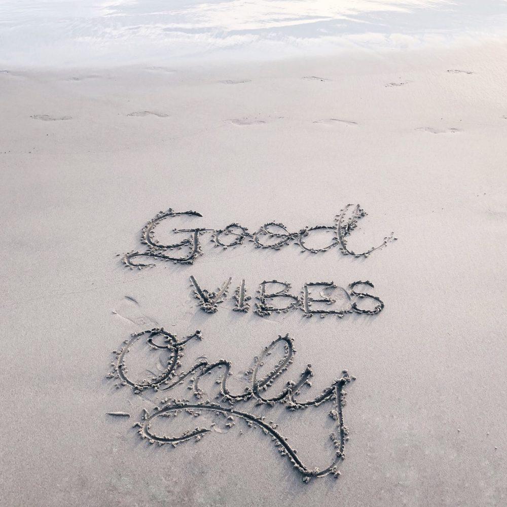 unsplash - good vibes only
