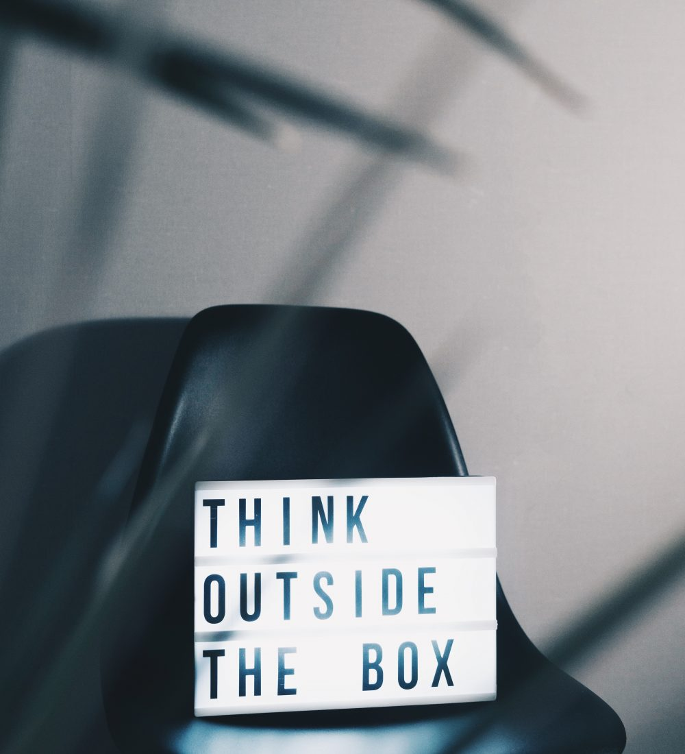 unsplash - think outside